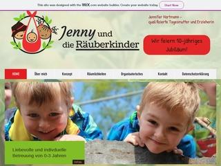 Vorschaubild der Webseite von Tagesmutter Jennifer Hartmann