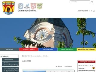 Vorschaubild der Webseite von Integrativer Gemeindekindergarten Kleine Strolche