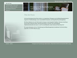 Vorschaubild der Webseite von Privatpraxis für Psychotherapie