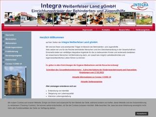 Vorschaubild der Webseite Integrative Kindertagesstätte Kunterbunte Forscherwelt