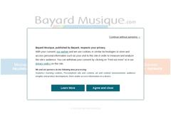 Bayard Musique - L'esprit musique - CD/MP3/Partitions en ligne
