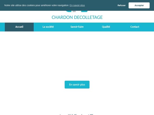 Chardon & Fils Sarl - (74) - Décolletage - Prototypage