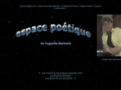 Espace poétique de Huguette Bertrand