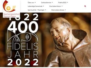 Vorschaubild der Webseite Kindergarten St. Fidelis