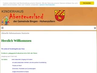 Vorschaubild der Webseite Kinderhaus Abenteuerland