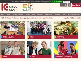 Vorschaubild der Webseite Integrativer Schulkindergarten des Körperbehindertenzentrums Oberschwaben an der Lassbergschule
