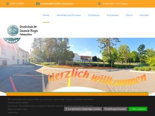 Vorschaubild der Webseite Grundschule Bingen