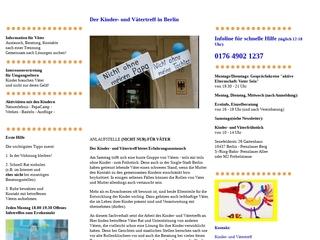 Vorschaubild der Webseite Kinder- und Vätertreff in Berlin