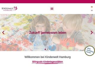 Vorschaubild der Webseite Bilinguale Kindertagesstätte Blankenese