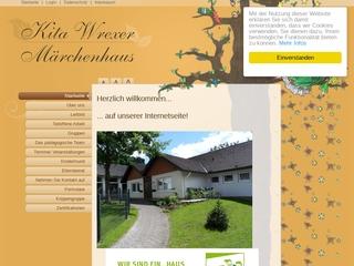 Vorschaubild der Webseite Kindertagesstätte Wrexer Märchenhaus