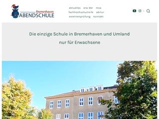 Vorschaubild der Webseite Abendschule Bremerhaven