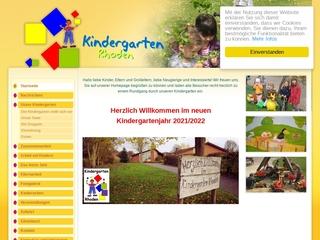 Vorschaubild der Webseite Kindergarten Rhoden
