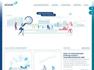 Vorschaubild der Webseite Wirtschafts- und Sozialakademie der Arbeitnehmerkammer Bremen gGmbH, Büro Bremerhaven