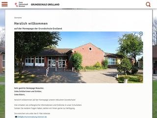 Vorschaubild der Webseite von Grundschule Grolland