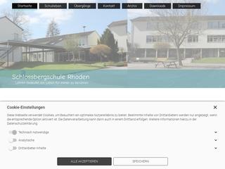Vorschaubild der Webseite von Schloßbergschule Rhoden