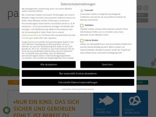 Vorschaubild der Webseite Kindertagesstätte Paula und Max