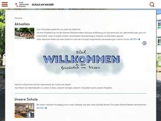 Vorschaubild der Webseite von Grundschule Am Wasser