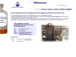 Vorschaubild der Webseite Alte privilegierte Apotheke