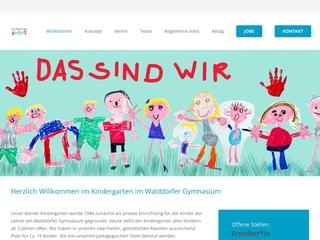 Vorschaubild der Webseite Kindergarten Walddörfer Gymnasium