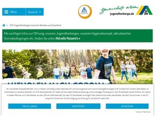 Vorschaubild der Webseite Jugendherberge Glörsee