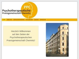 Vorschaubild der Webseite Psychotherapeutische Praxisgemeinschaft Sebastian Remmers