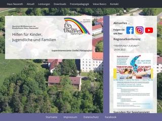 Vorschaubild der Webseite Kinderhaus Maria Theresia