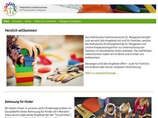 Vorschaubild der Webseite KiTa St. Ursula