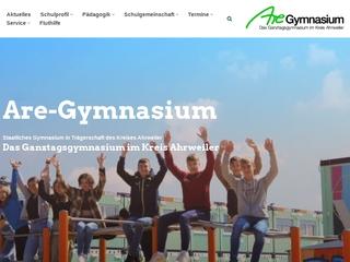 Vorschaubild der Webseite von Are-Gymnasium