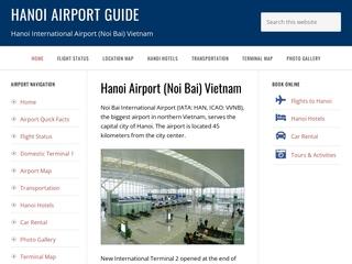 Hanoi International Airport (Noi Bai International Airport)