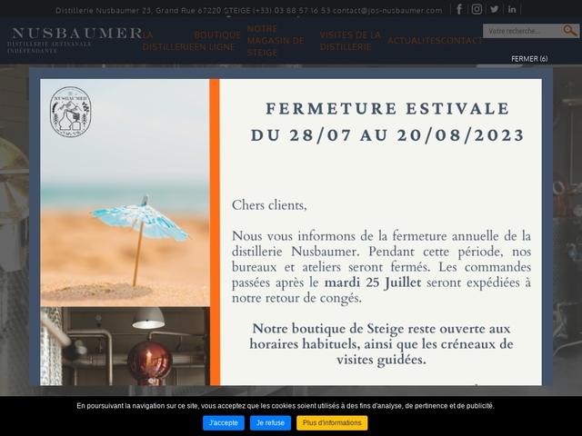 Distillerie Jos Nusbaumer du Val de Villé