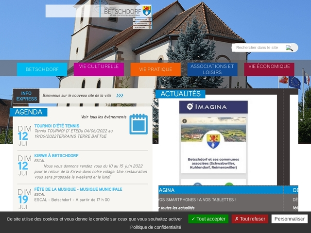 Betschdorf Site officiel de la ville