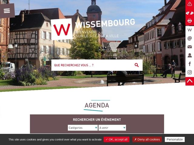Wissembourg site officiel de la ville