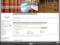 Bibliothèque diocésaine de Rennes.