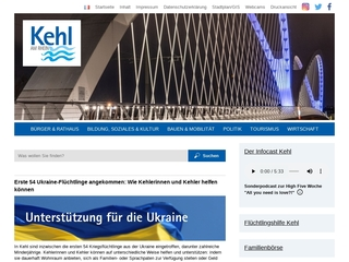 Vorschaubild der Webseite von Frauen- und Mütterzentrum Kehl