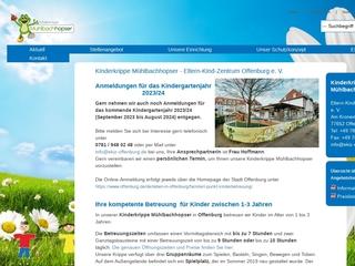 Vorschaubild der Webseite von Kinderkrippe Mühlbachhopser