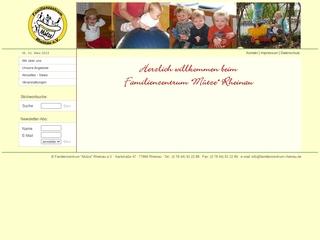 Vorschaubild der Webseite Familienzentrum Mütze Rheinau e.V.