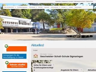 Vorschaubild der Webseite Geschwister-Scholl-Schule