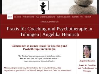 Vorschaubild der Webseite Praxis für Coaching und Psychotherapie