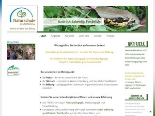 Vorschaubild der Webseite Naturschule Freiburg e.V.