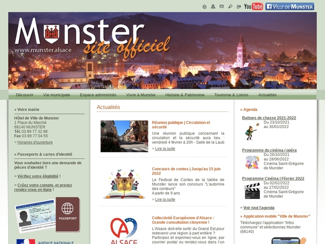 Ville de Munster - Site officiel