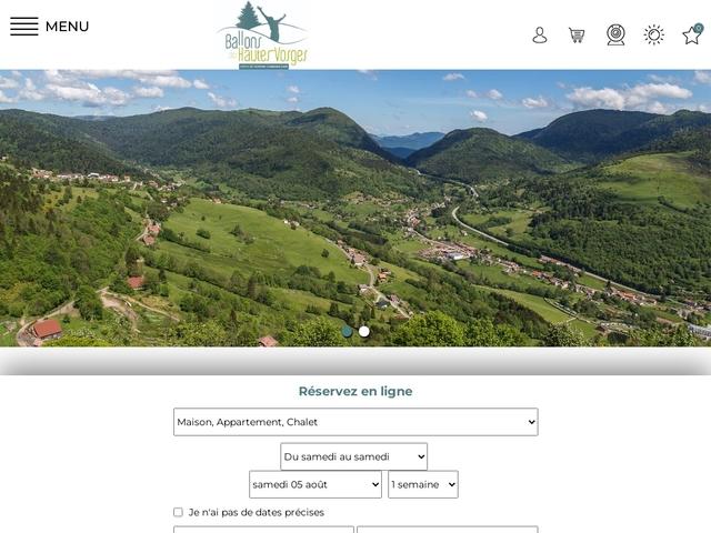 Ballons des Hautes-Vosges Office de tourisme