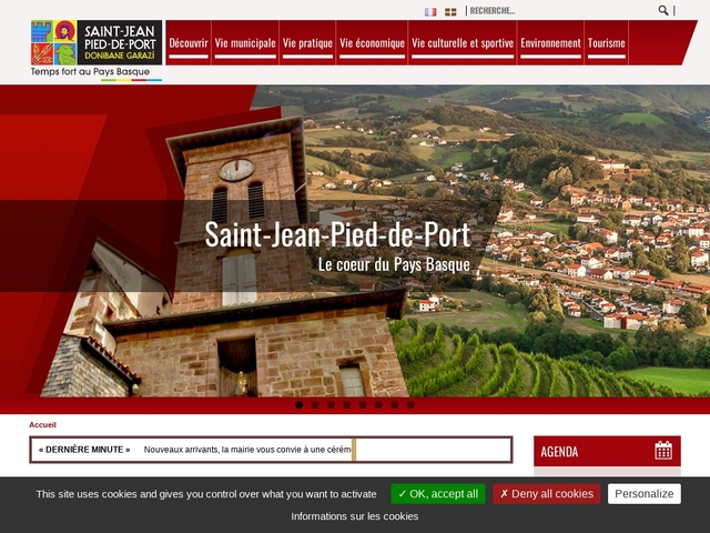 Saint-Jean-Pied-de-Port Site officiel