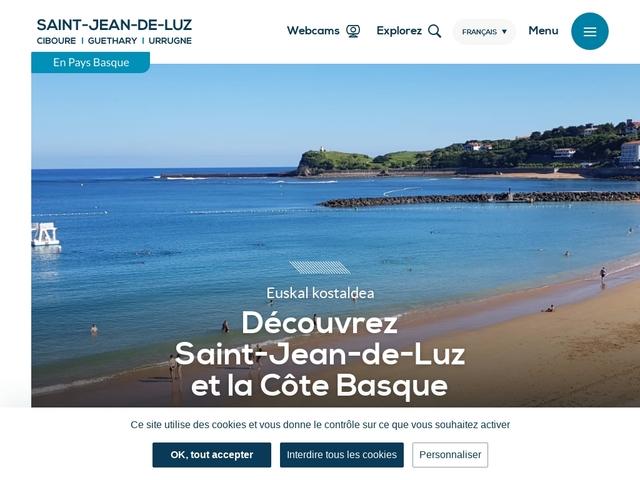 Saint-Jean-de-Luz Site officiel