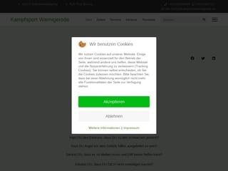 Vorschaubild der Webseite Harzer Sportverein Wernigerode e.V.