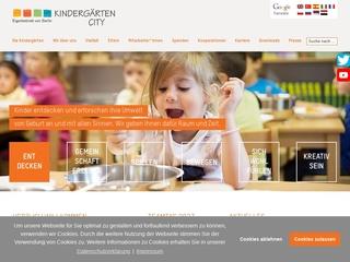 Vorschaubild der Webseite von Kindertagesstätte Huttenstr. 22A