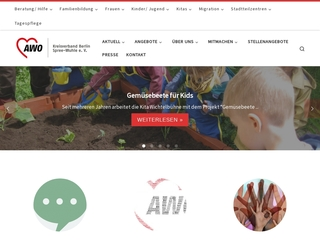 Vorschaubild der Webseite von AWO-Kindertagesstätte Wichtelbühne