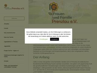 Vorschaubild der Webseite Kindertagesstätte Uckersternchen