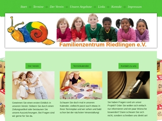 Vorschaubild der Webseite von Familienzentrum Riedlingen e.V.