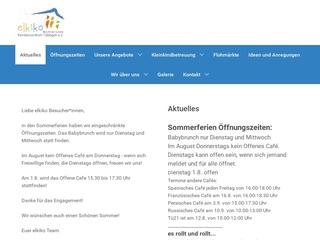 Vorschaubild der Webseite von Elkiko Familienzentrum Tübingen
