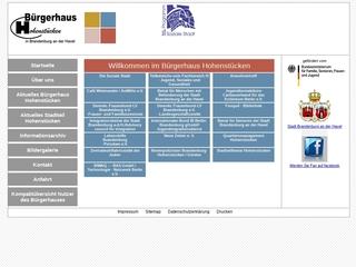 Vorschaubild der Webseite von Frauen u. Familienzentrum Brandenburg